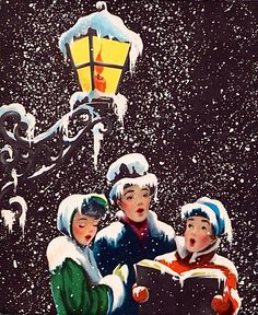 details - Christmas Carollers