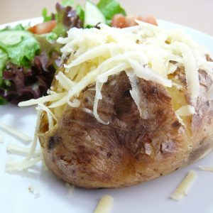 Oven Baked Jacket Potatoes